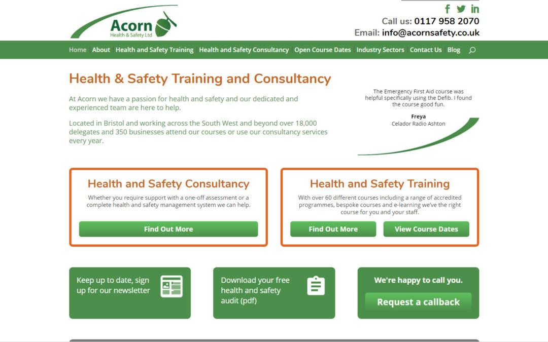 Acorn – Health & Safety