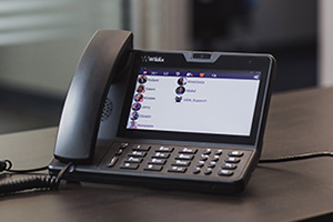 VOIP Telephone handset with screen - available from iTeam Solutions Bristol